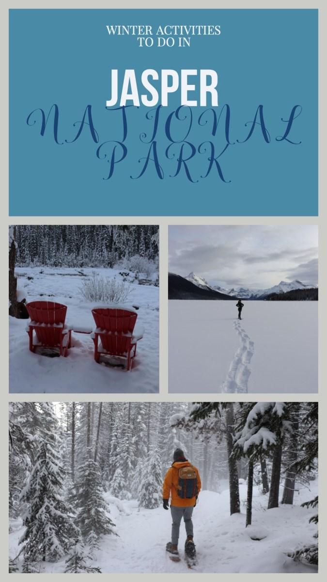 6 activities to do in Winter in Jasper National Park!