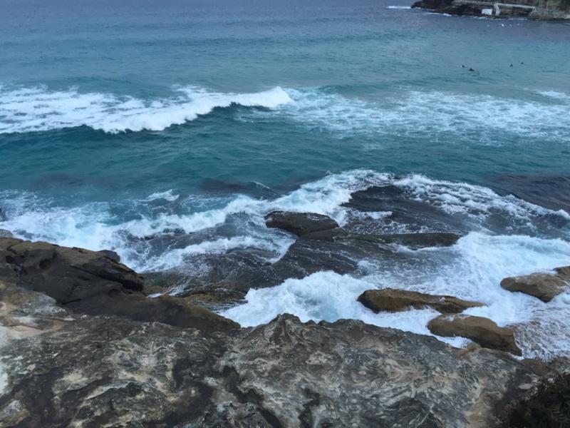 Coogee Beach Australia Rocks Awesome