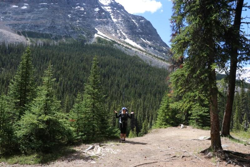 Astoria Campground in Tonquin Valley in Jasper National Park