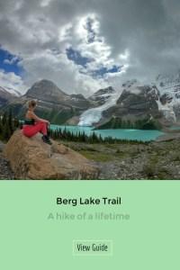 Berg Lake British Columbia! Exploring the amazing Berg Lake Trail in British Columbia. One of Canada's greatest hikes!