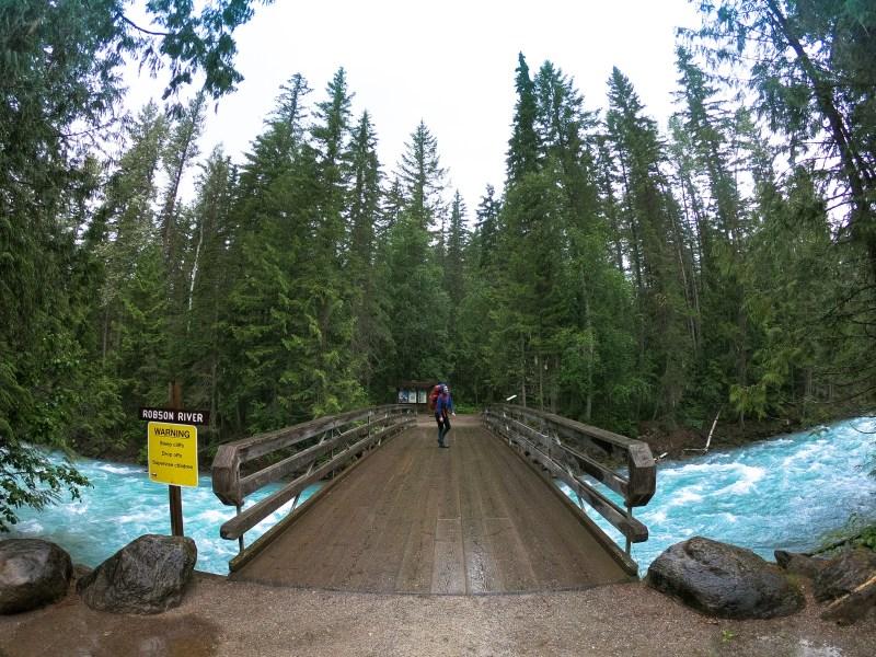 The Berg Lake Trailhead!