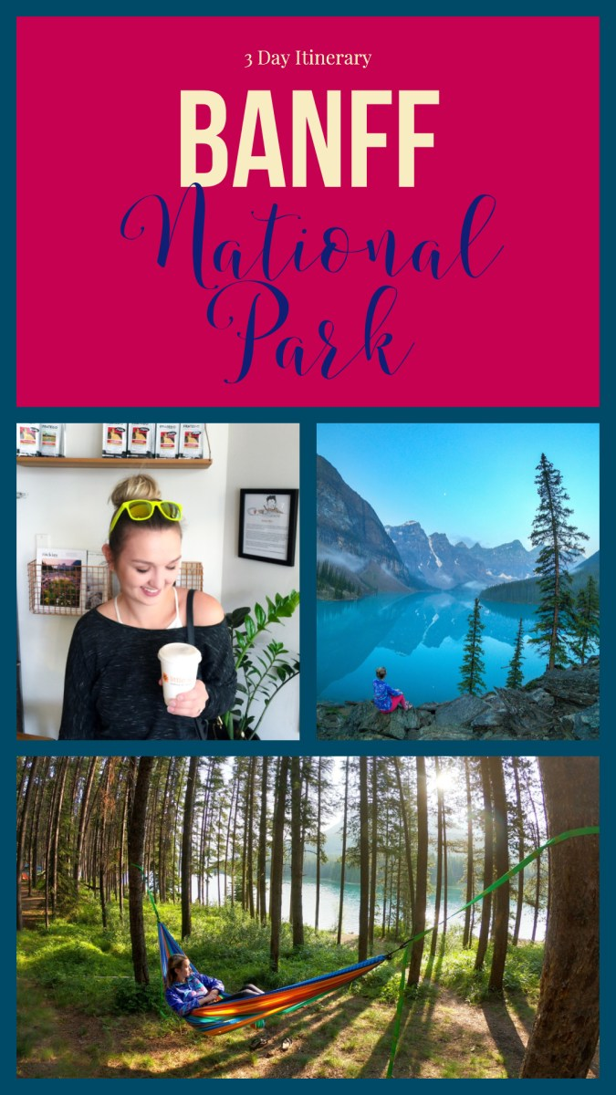 3 Day Itinerary for Banff National Park! Are you ready to explore Banff National Park, see how to do it in 72 hours!