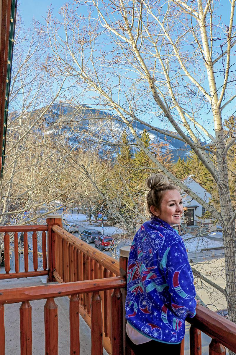 Brewster's Mountain Lodge- Balcony