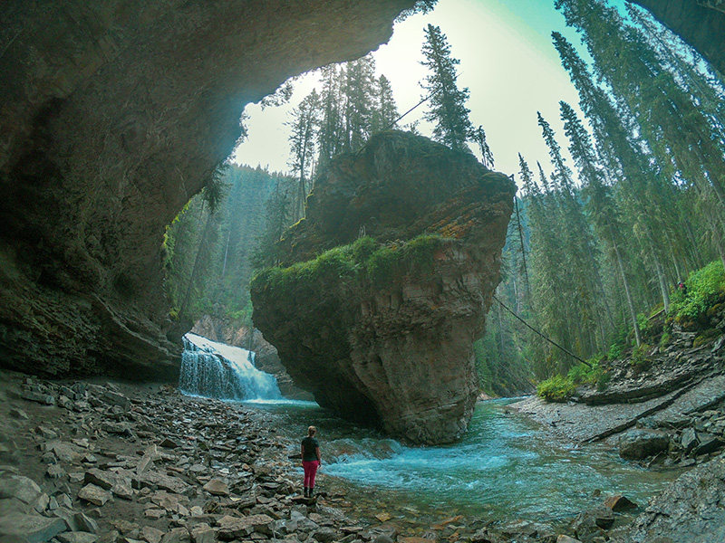 Johnston's Canyon Cave