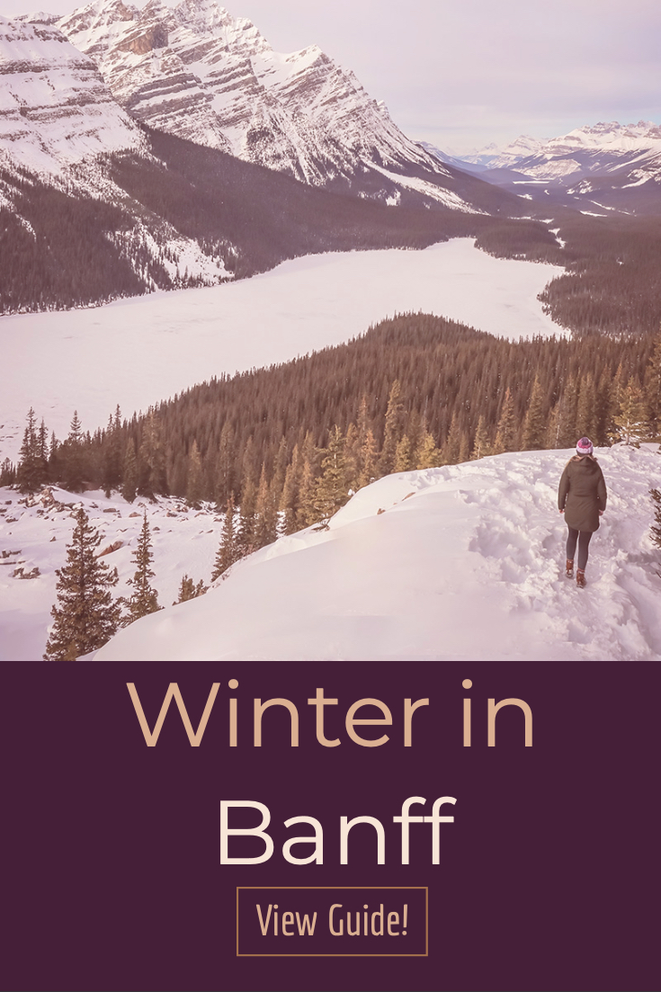 Winter in Banff is the most amazing thing. Check out these things to do in the Banff in the winter!
