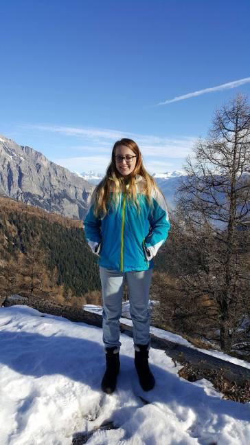 Me at Ovrannaz, Switzerland