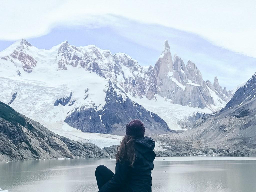 Laguna Torre Base of Fitz Roy El Chalten Patagonia