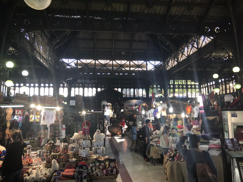 Central Market in Santiago Chile