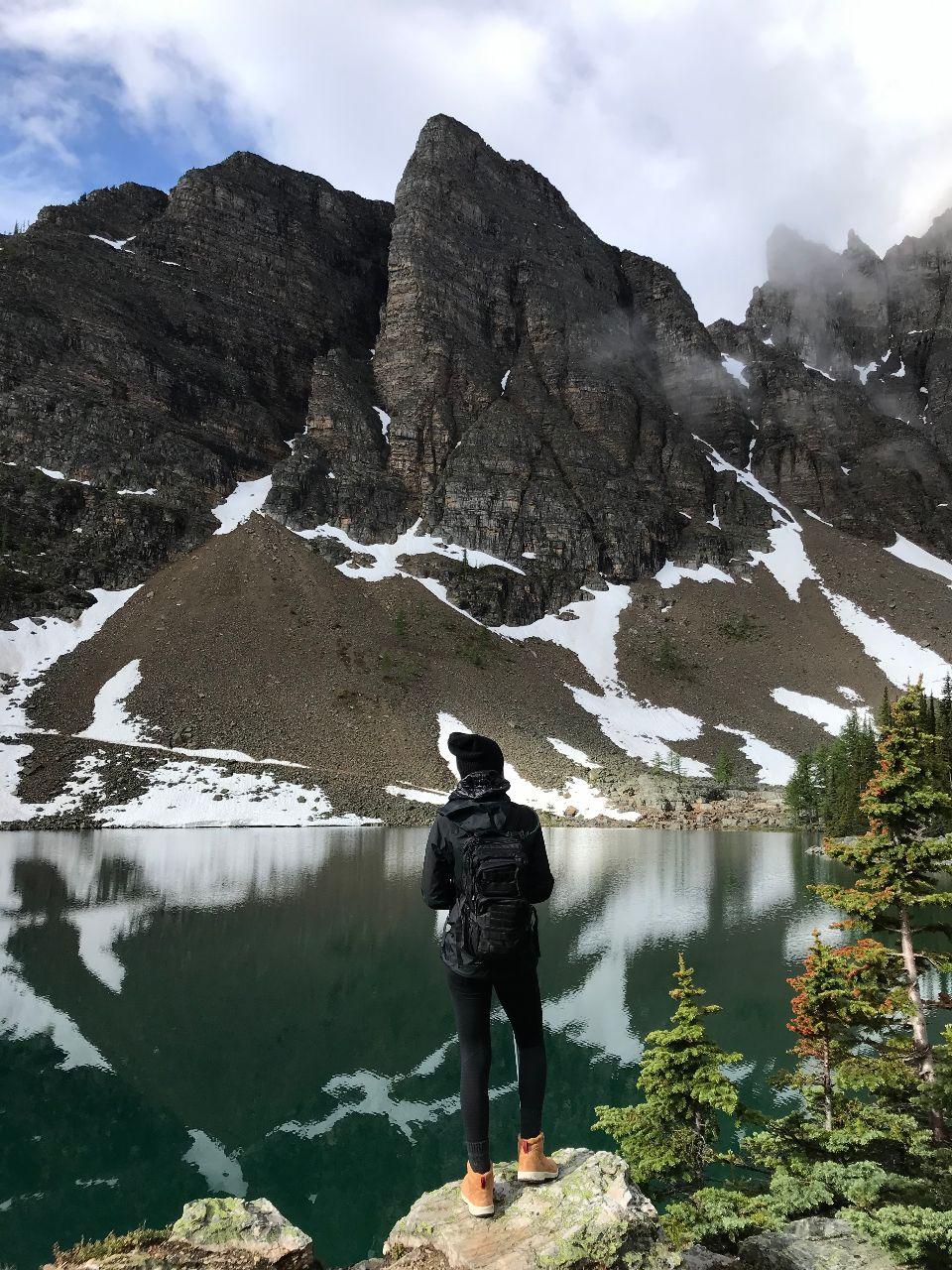 Lake Agnes near Devils Thumb Canada