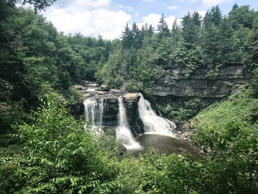 Blackwater Falls WV Monongahela State Forest