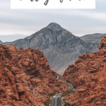 Complete Guide to Valley of Fire State Park Mouse tank Road at Sunrise