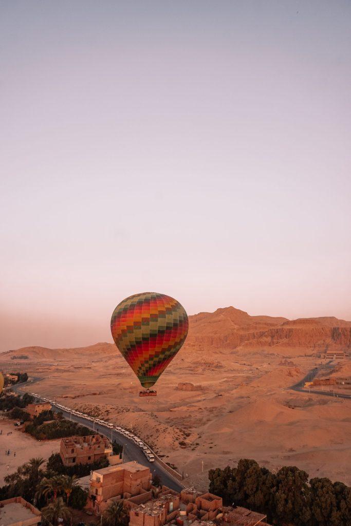 Sunrise Hot Air Balloon Ride in Luxor