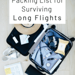 Packing List for Long Flights