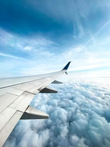 Long Haul Flight Picture from Plane