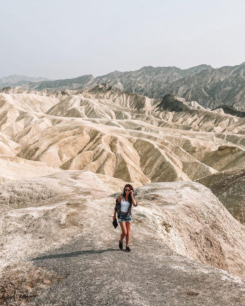 Los Angeles to Death Valley Zabriskie Point
