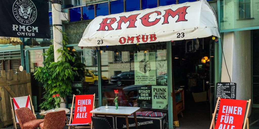 Picture of the Ramones Museum in Berlin where you don't need an advance museum ticket.