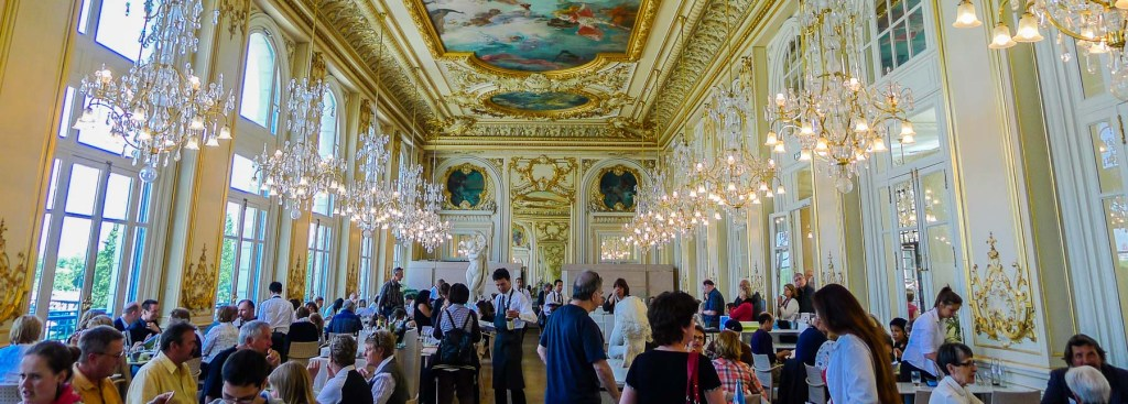 Picture of restaurant at the d'Orsay.