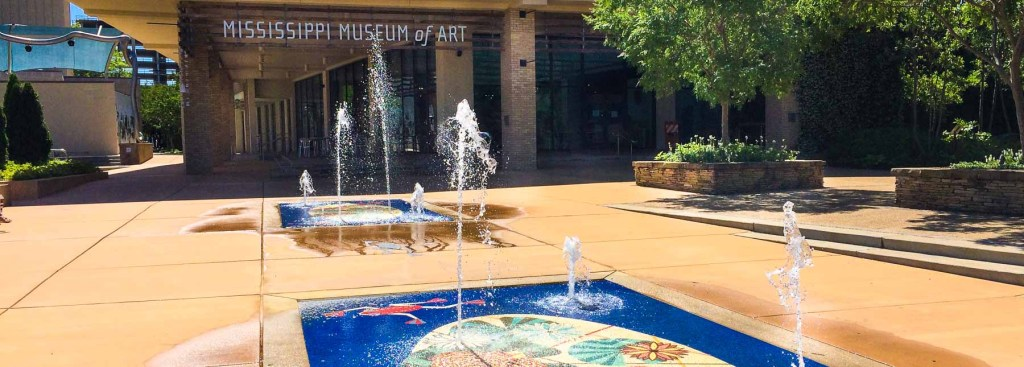Picture of outside of the Mississippi Museum of Art.