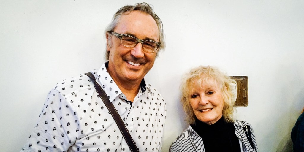 Picture of Andy with Petula Clark.