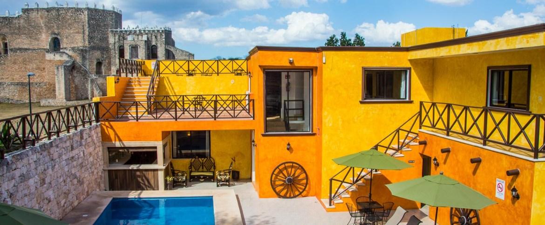 Our hotel in Izamal, the Hotel Rinconada del Convento.