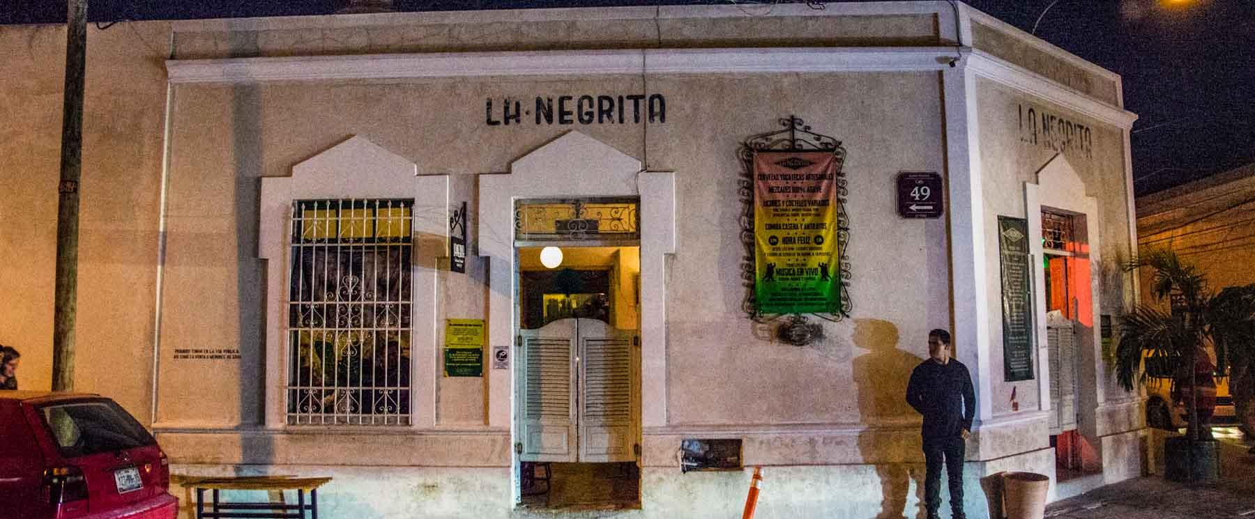 La Negrita bar a highlight of our Yucatan road trip.