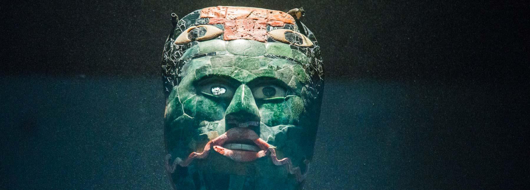 Jade mask.