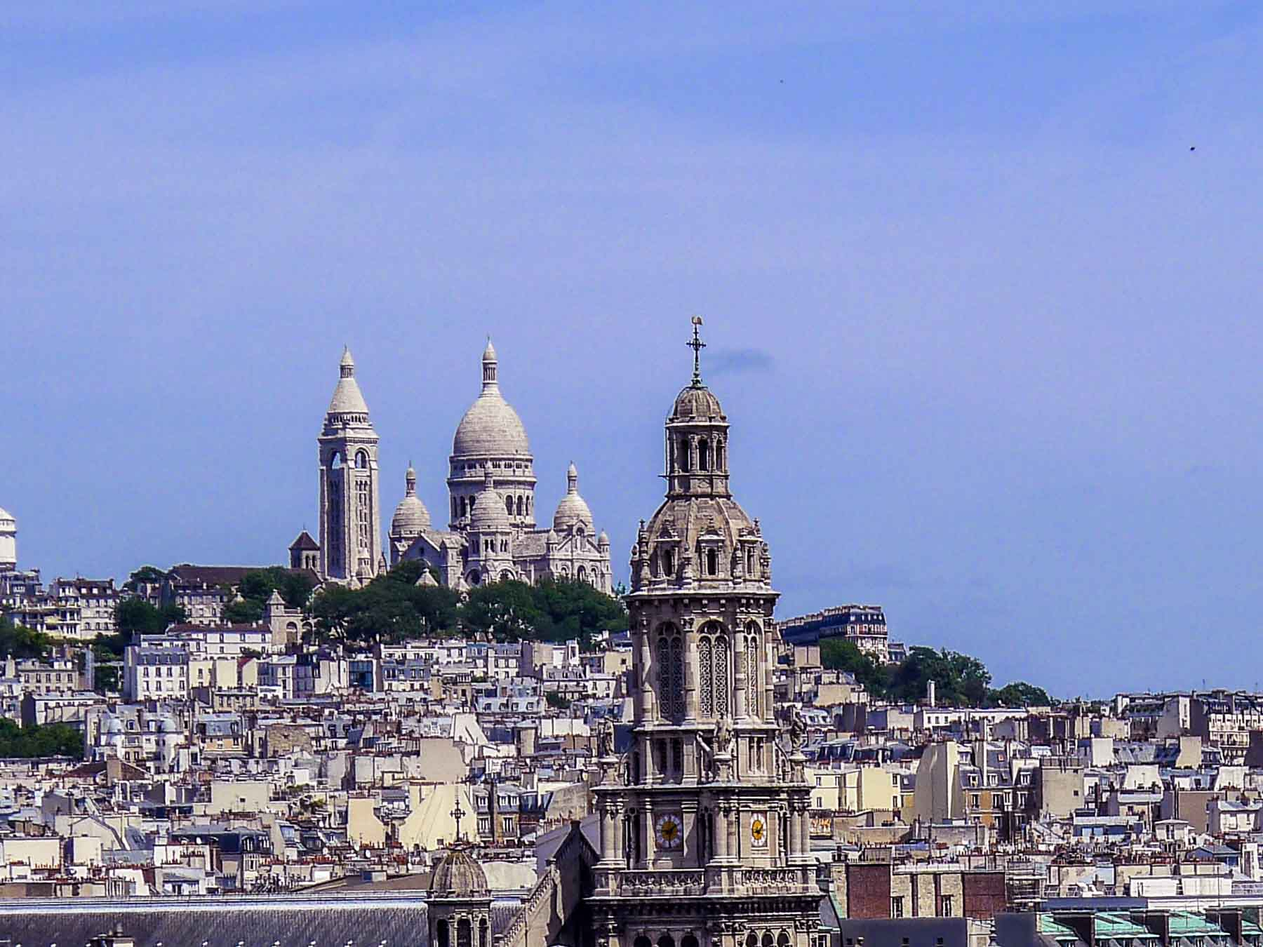 View of Sacre-Coeur church.