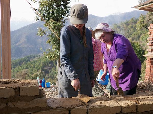 Mud mortaring