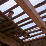 Laying Bamboo for Ground Floor Ceiling