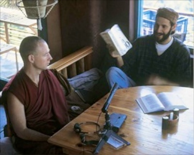 Azriel Cohen and Tenzin Josh