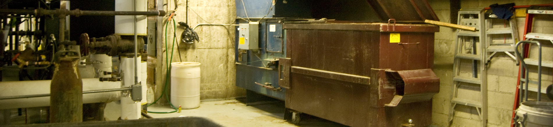 Garbage Compactor Rooms & Chutes