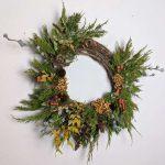 Grapevine Wreath Medium Earth Within Flowers