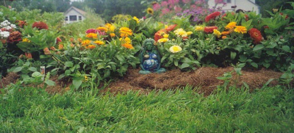 Gaia in the Garden by Satyena Ananda