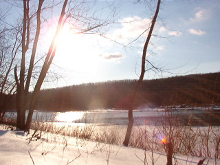Connecticut River in February