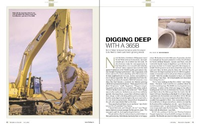 Digging Deep with a 365B