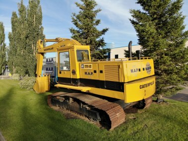 Caterpillar 225LC Lawn Ornament