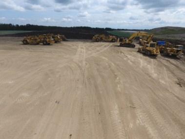 Villinue Pit Project - Equipment Yard