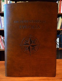 Earthworks Journals Leather Bound Ship's Log
