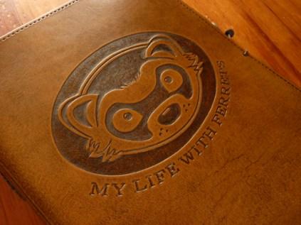 Earthworks Journals Leather Binder for a Ferret Fancier