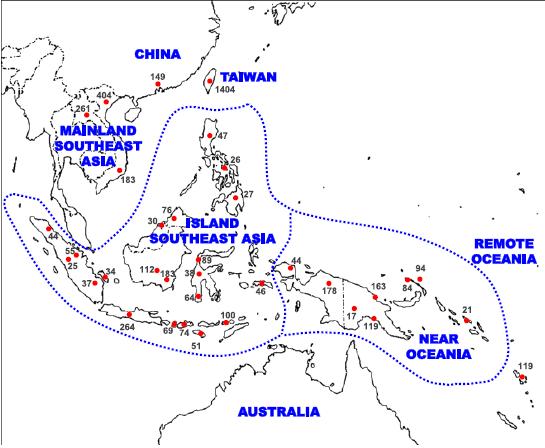 china, australia, etc.