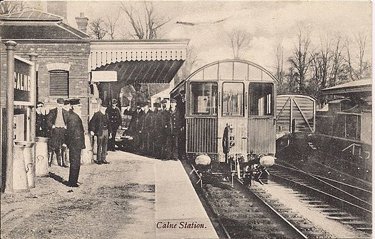 Postcard dated 1917 Calne railway station.jpg