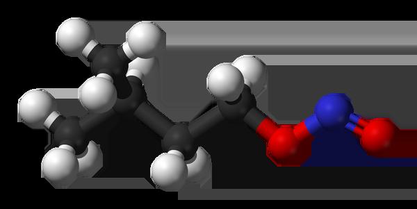 amyl-nitrite-3d-balls