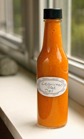 Lagrimas del Sol Hot Sauce (Tears of the Sun)