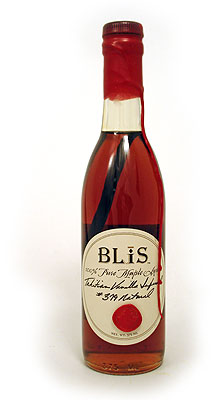 BLiS Tahitian Vanilla Maple Syrup