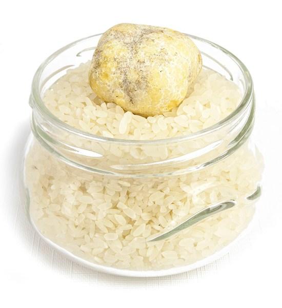 Honey Truffle on top of rice