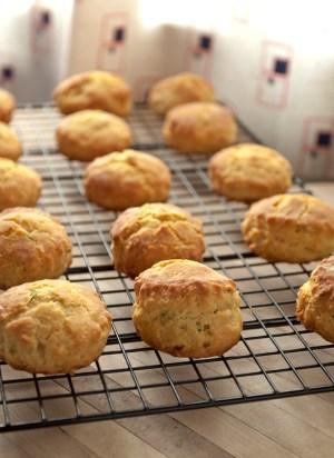 Chive Mini Biscuits