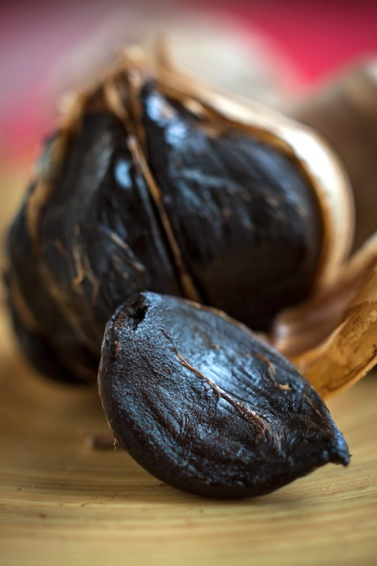 Black garlic, up close & personal