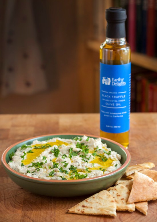 Truffled Baba Ganouj with Crisp Pita Chips