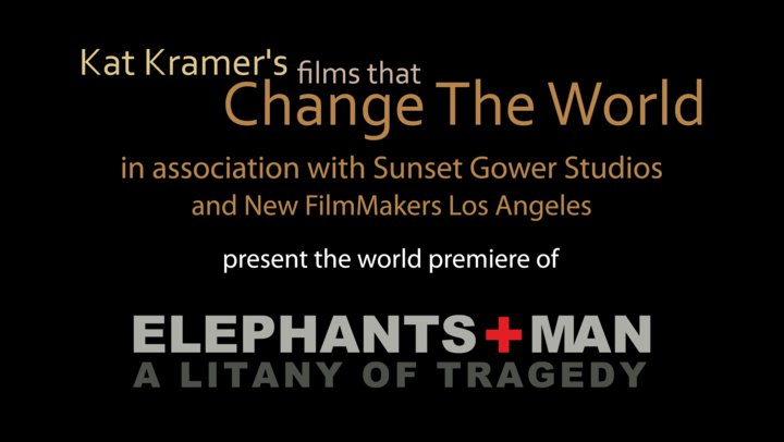 Elephants and Man: A Litany of Tragedy