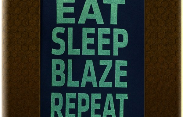 "Green ""Eat Sleep Blaze Repeat"" T-Shirt"